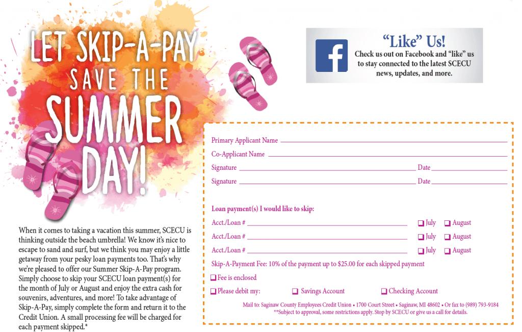 Summer Skip-A-Pay PDF
