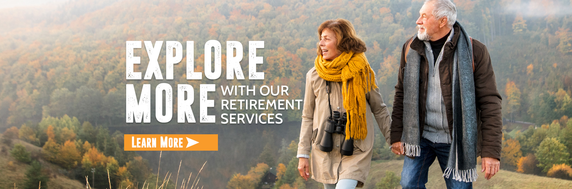 Explore more with our retirement services