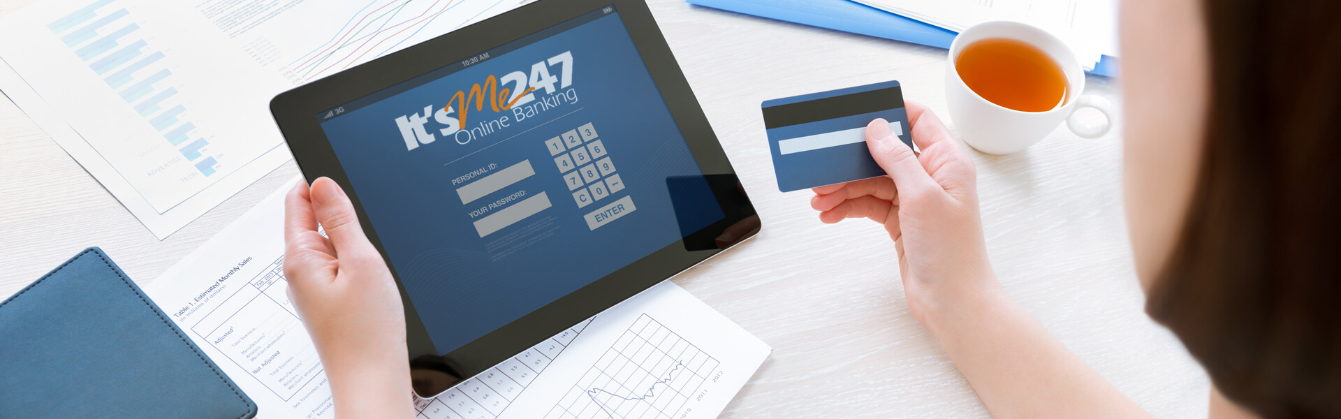 Its Me 247 Online Banking Banner
